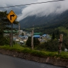 A petroleum processing facility lies in the rainforest's valleys in the Napo region of Ecuador (Photo: Adam McCauley)